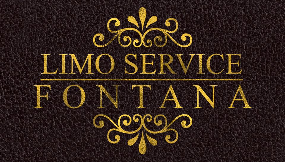 limo service fontana logo